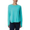Columbia Women's PFG Zero LS Shirt - XS - Dolphin