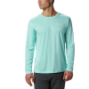 Columbia Men's PFG Zero Rules LS Shirt - Small - Gulf Stream
