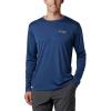 Columbia Men's PFG Zero Rules LS Shirt - XS - Carbon