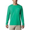 Columbia Men's PFG Zero Rules LS Shirt - Medium - Dark Lime