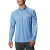 Columbia Men's Terminal Tackle 1/4 Zip Top - XL - White Cap / White