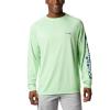 Columbia Men's Terminal Tackle LS Shirt - XLT - Key West / Vivid Blue