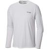 Columbia Men's PFG Fish Series II Terminal Tackle LS Shirt - Large - White / USA Flag