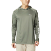 Columbia Men's Terminal Tackle Hoodie - Small - Cypress / White Logo