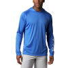 Columbia Men's Terminal Tackle Hoodie - 3XT - Vivid Blue / Cool Grey