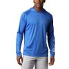 Columbia Men's Terminal Tackle Hoodie - 4XT - Vivid Blue / Cool Grey