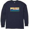 Billabong Men's Scenic LS Shirt - XL - Navy
