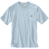 Carhartt Men's Workwear Pocket SS T Shirt - XL Regular - Soft Blue