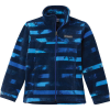 Columbia Youth Boys' Zing III Fleece Jacket - Medium - Azul Tie Dye Stripe