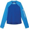 Columbia Youth Sandy Shores LS Sunguard Top - Medium - Azul / Azure Blue