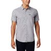 Columbia Men's Summer Chill SS Shirt - Large - Columbia Grey Wispy Bamboo