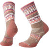 Smartwool Women's PhD Outdoor Medium Pattern Crew Sock - Large - Fossil