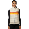 Cotopaxi Women's Fuego Down Vest - Large - Cream Stripes
