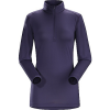 photo: Arc'teryx Women's Phase SL Zip Neck