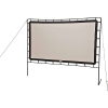 Camp Chef Outdoor Entertainment Gear Curved Big Screen