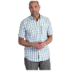 ExOfficio Men's Lodestone Plaid SS Shirt