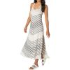 Beyond Yoga Women's Bring It Ommmbre Striped Midi Dress