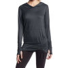 Beyond Yoga Women's Cloud Heather Pullover Ruched Hoodie