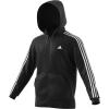 Adidas Men's Essential 3S Full Zip B Hoodie