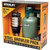 Stanley Classic 2 QT Vacuum Growler + Adventure Stacking Steel Tumbler