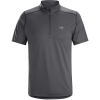 Arcteryx Men's Accelero Comp Zip Neck SS Top
