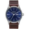 Nixon Men's Sentry Leather Watch