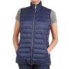 Pendleton Women's Zip Front Down Vest - Small - Mood Indigo