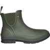 Bogs Women's Amanda Plush Slip On Boot - 6 - Dark Green