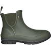 Bogs Women's Amanda Plush Slip On Boot - 8 - Dark Green