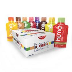 Huma Energy Gel Assorted Box of 24 Nutrition