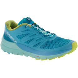 Salomon Sense Pro Max Women's Trail Running Shoes Blue Curacao/Beach Glass