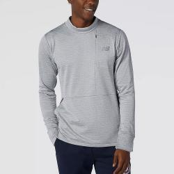 New Balance Athletics Shoe Box Tee Men's Running Apparel Athletic Grey
