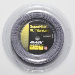 Ashaway SuperNick XL Titanium 17 1.25 360' Reel Squash String Reels