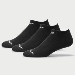 adidas Cushioned No Show Socks 3 Pack Women's Socks Black/Black