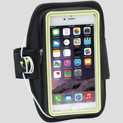 Nathan SonicStorm Armband Packs & Carriers Black/Safety Yellow