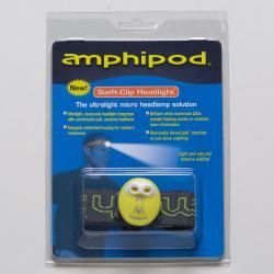 Amphipod Swift-Clip Headlight Reflective, Night Safety Green/Charcoal