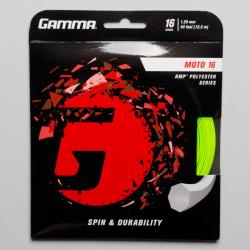 Gamma Moto 16 Tennis String Packages Lime