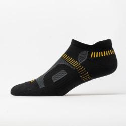 Balega Hidden Contour Low Cut Socks Socks Black/Yellow