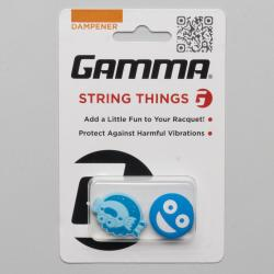 Gamma String Things Vibration Dampener Vibration Dampeners Blue Fish/Blue Face