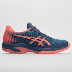 ASICS Solution Speed FF Women's Tennis Shoes Grand Shark/Papaya