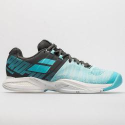 Babolat Propulse Blast Women's Tennis Shoes Gray/Blue Radiance