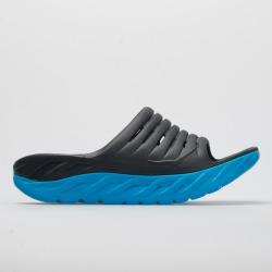 Hoka One One Recovery Flip Women's Sandals & Slides Ebony/Dresden Blue