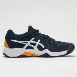 ASICS GEL-Resolution 8 Junior French Blue/White Junior Tennis Shoes