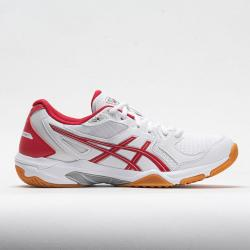 ASICS GEL-Rocket 9 Women's Indoor, Squash, Racquetball Shoes White/Classic Red