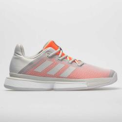adidas SoleMatch Bounce Women's Tennis Shoes Solid Gray/Solid Gray/Hi-Res Coral
