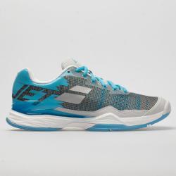 Babolat Jet Mach I Women's Tennis Shoes Silver/Horizon Blue