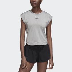 adidas NY Tee Women's Tennis Apparel Grey/Black