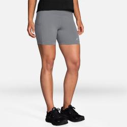 "Brooks Method 5"" Short Tight Women's Running Apparel Steel"