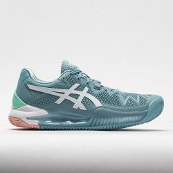 ASICS Solution Speed FF 2 Clay Women's Tennis Shoes Smoke Blue/White