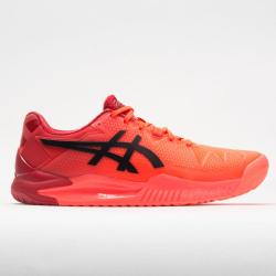 ASICS GEL-Resolution 8 Tokyo Women's Tennis Shoes Sunrise Red/Eclipse Black